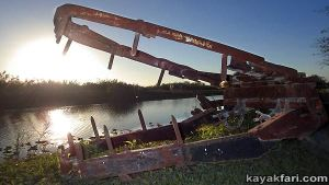 Miami River kayakfari Okeechobee Everglades Flex Maslan canoe expedition paddle River of Grass 2014 kayak gator camp