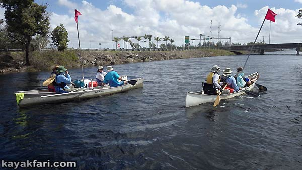 Miami River kayakfari Okeechobee Everglades Flex Maslan canoe expedition paddle River of Grass 2014 kayak florida