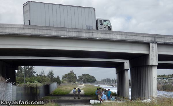 Miami River kayakfari Okeechobee Everglades Flex Maslan canoe expedition paddle River of Grass 2014 kayak florida turnpike