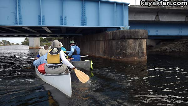 Miami River kayakfari Okeechobee Everglades Flex Maslan canoe expedition paddle River of Grass 2014 kayak train rail