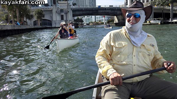 Miami River kayakfari Okeechobee Everglades Flex Maslan canoe expedition paddle River of Grass 2014 kayak circle