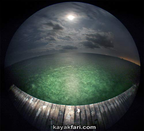 Flex Maslan kayakfari Miami Stiltsville Art Photography aerial kayak Biscayne Bay landscape panoramic Florida Miami's Stiltsville village on Biscayne Bay