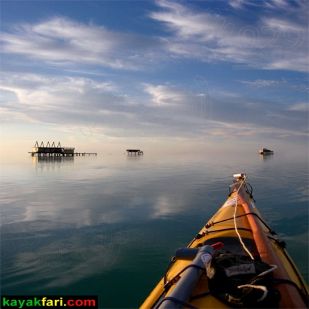 Flex Maslan kayakfari Miami Stiltsville Art Photography aerial kayak Biscayne Bay landscape panoramic Florida Miami's Stiltsville village on Biscayne Bay paddling cape Florida lighthouse