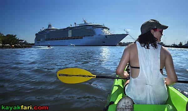 Whiskey Creek snorkel John U Lloyd kayakfari flex maslan florida kayak beach canoe kayakfari.com cruise ship port everglades