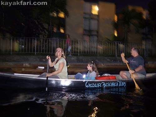 Flex Maslan Miami River night kayakfari paddle kayak canoe full moon shipyard history