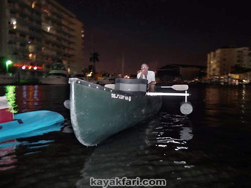 Flex Maslan Miami River night kayakfari paddle kayak canoe full moon shipyard history shawn beightol