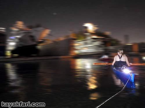Flex Maslan Miami River night kayakfari paddle kayak canoe full moon shipyard history photography