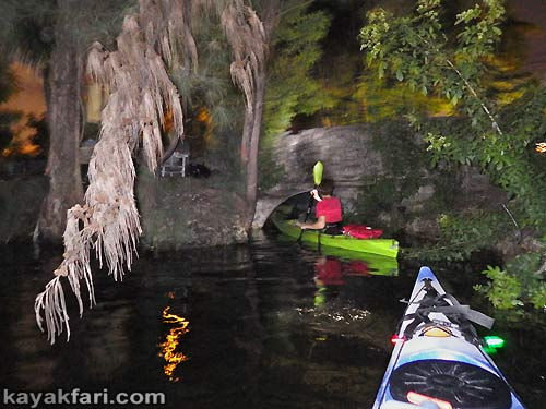 Flex Maslan Miami River night kayakfari paddle kayak canoe full moon shipyard history ferguson mill