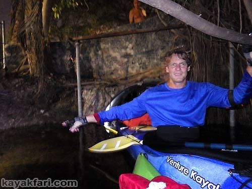 Flex Maslan Miami River night kayakfari paddle kayak canoe full moon shipyard history culvert ferguson mill