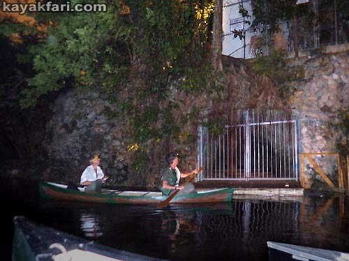 Flex Maslan Miami River night kayakfari paddle kayak canoe full moon shipyard history photography miccosukee caves