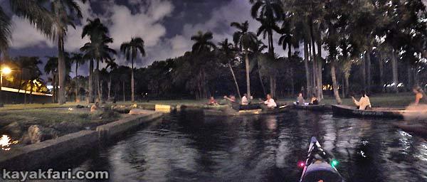 Flex Maslan Miami River night kayakfari paddle kayak canoe full moon shipyard history photography sewell park