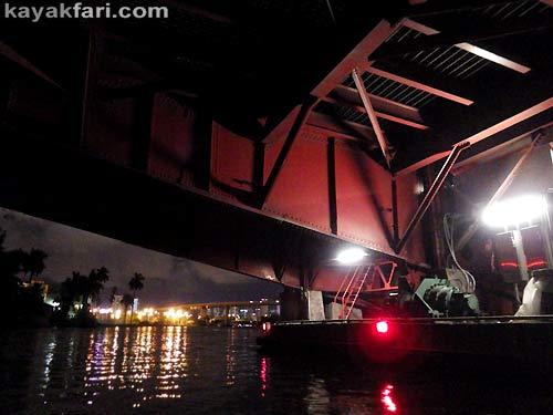 Flex Maslan Miami River night kayakfari paddle kayak canoe full moon shipyard history photography sewell park 17th bridge