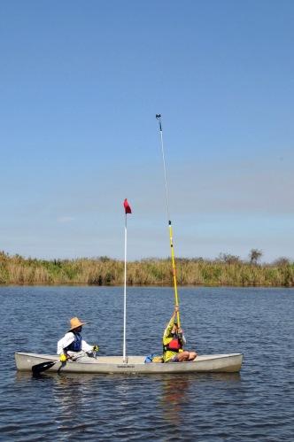 Miami River kayakfari Okeechobee Everglades canoe expedition Flex Maslan paddle River of Grass 2014 kayak Leonard Bryant