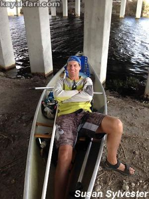 Flex Maslan Miami River kayakfari Okeechobee Everglades canoe expedition paddle River of Grass 2014 kayak florida