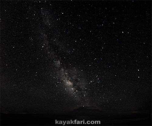 Flex Maslan kayakfari photographer kayak camping stars night Everglades landscape pano print art Florida Bay slough shark milky way galaxy