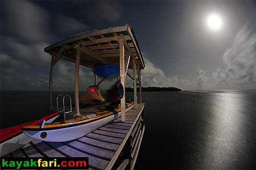Flex Maslan kayakfari photographer kayak camping stars night Everglades landscape pano print art Florida Bay slough shark johnson key chickee moon