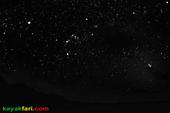 Flex Maslan kayakfari photographer kayak camping stars night Everglades landscape pano print art Florida Bay slough shark orion little rabbit key