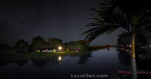 Flex Maslan kayakfari photographer kayak camping stars night Everglades landscape pano print art Florida Bay slough shark miami river canal mack's fish camp