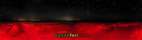 Flex Maslan kayakfari photographer kayak camping stars night Everglades landscape pano print art Florida Bay slough shark camp hell evil ten thousand island