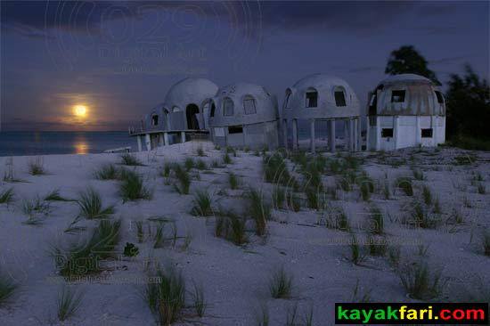 Flex Maslan kayakfari photographer kayak camping stars night Everglades landscape pano print art Florida Bay slough shark cape romano moonset