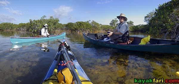 Flex Maslan kayakfari.com Bill Ashley Jungle Herman Lucerne backcountry Paurotis Pond kayakfari aerial Hells Bay canoe kayak trail everglades mangroves invitational 2014