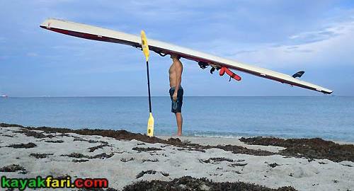 flex maslan kayakfari surfski findeisen shearwater stringer foam surgery florida kayak fitness paddle