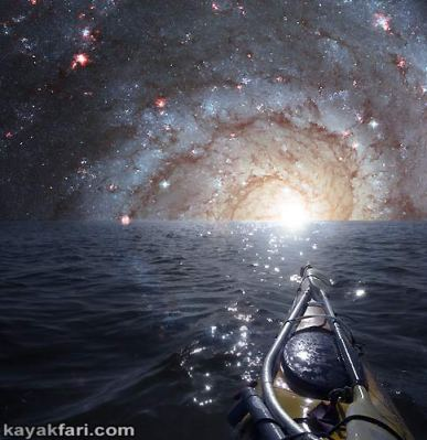 Flex Maslan space kayak art photography kayakfari fantasy orbit florida art photography night alien everglades sky