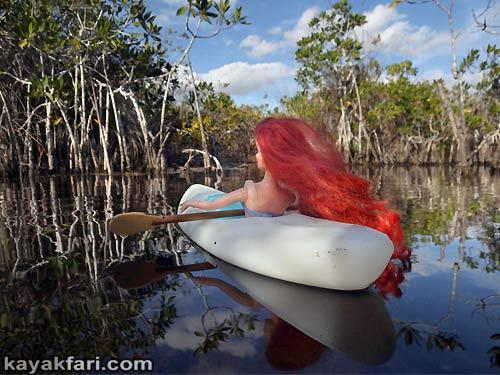 Flex Maslan everglades kayakfari photographer sexy daydream kayak valentines friday love art barbie romance fun dream