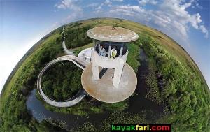 Flex Maslan kayakfari.com Everglades Shark Valley Tower photography aerial slough sawgrass awakenthegrass art landscape paddle willoughby
