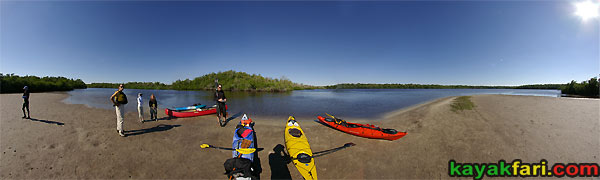 Flex Maslan kayakfari photographer canoe everglades turner river panorama kayak landscape mud flats