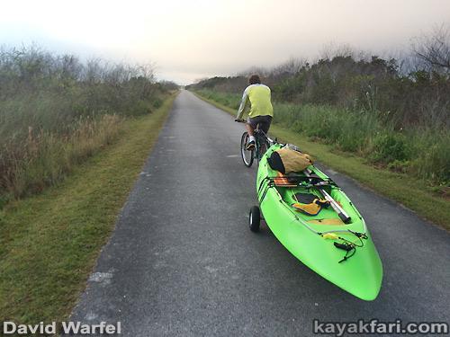 Flex Maslan kayakfari awakenthegrass kayak shark valley everglades paddling tree hammock seagrape sawgrass willoughby key 1898 bicycle