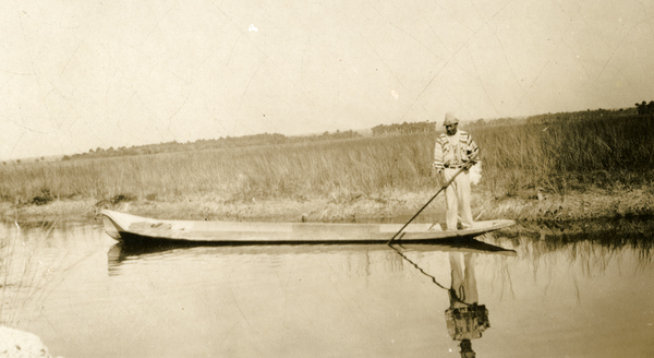 Everglades Flex Maslan kayakfari grass Miccosukee dugout canoe glades skiff kayak Simmons FloridaMemory.com awakenthegrass 1928