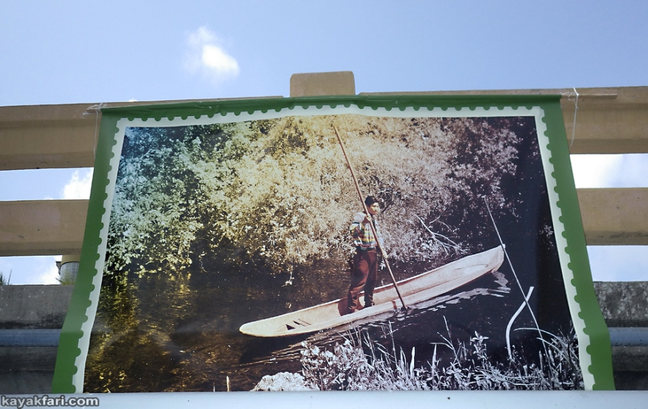 kayakfari flex maslan Himmarshee new river art seminole paddle kayak ft lauderdale upper room gallery Robin Merrill tribal arts
