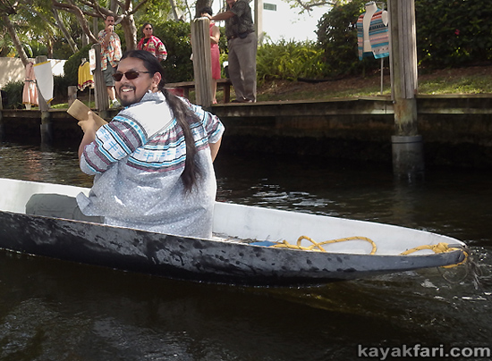 kayakfari flex maslan Himmarshee new river art seminole paddle kayak ft lauderdale upper room gallery Robin Merrill tribal arts