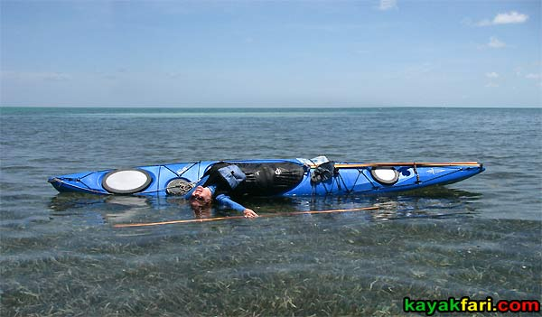 Flex Maslan kayakfari Alligator Light aerial lighthouse kayak keys panorama tropical florida coral reef photography Leah balance brace