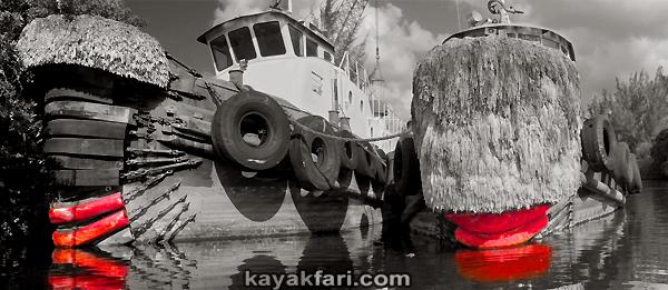 Flex Maslan Miami River art kayakfari photography kayak Everglades canoe paddle Grass florida canal okeechobee biscayne ships