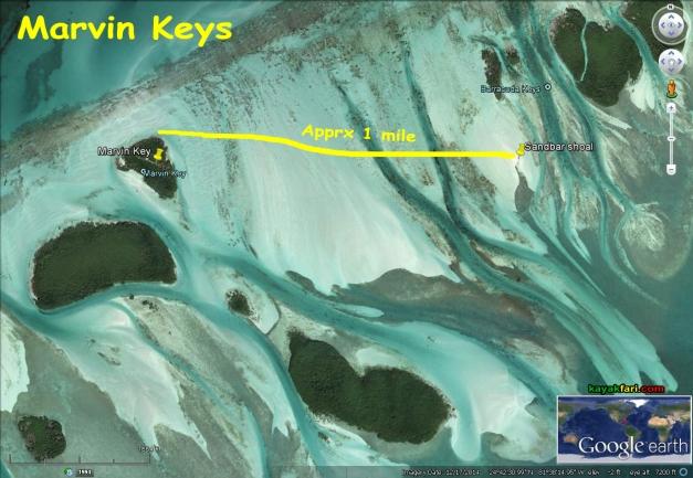 flex maslan kayakfari Barracuda Keys marvin shoal sandbar kayak paddle sugarloaf backcountry beach bay coral reef photography satellite