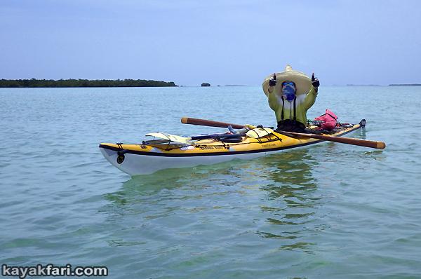 flex maslan kayakfari Barracuda Keys marvin shoal sandbar kayak paddle sugarloaf backcountry beach bay coral reef photography sombrero