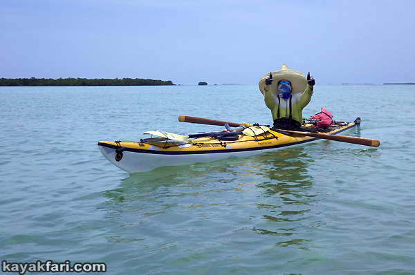 flex maslan kayakfari Barracuda Keys marvin shoal sandbar kayak paddle sugarloaf backcountry beach bay coral reef photography sombrero