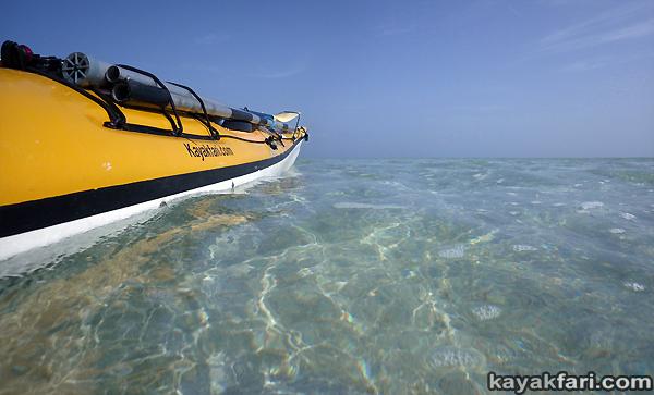 flex maslan kayakfari Barracuda Keys marvin shoal sandbar kayak paddle sugarloaf backcountry beach bay coral reef photography Turquoise