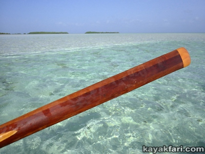 flex maslan kayakfari Barracuda Keys marvin shoal sandbar kayak paddle sugarloaf backcountry beach bay coral reef photography greenland stick Turquoise