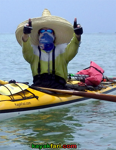 flex maslan kayakfari pistolero lower Keys kayak paddle sombrero sugarloaf backcountry beach bay bandit reef photography camp