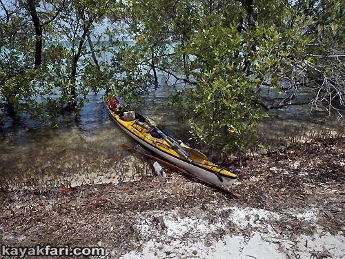 flex maslan kayakfari Snipe point Keys marvin shoal sandbar kayak paddle sugarloaf backcountry beach bay coral reef photography