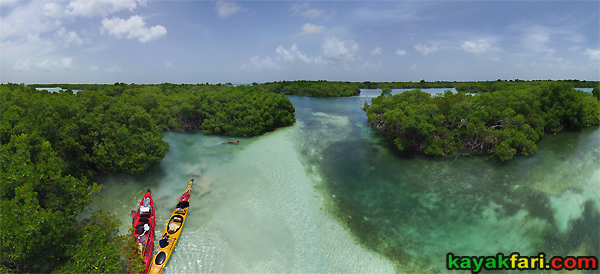 flex maslan kayakfari Snipe Keys aerial shoal snorkel kayak mangrove paddle sugarloaf backcountry beach bay coral reef photography