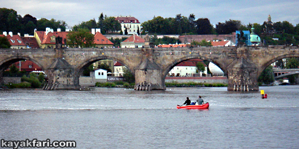 Flex Maslan Prague kayak vltava kayakfari art photography charles bridge czech republic 420 Vysehrad kajak river gothic castle weir lock