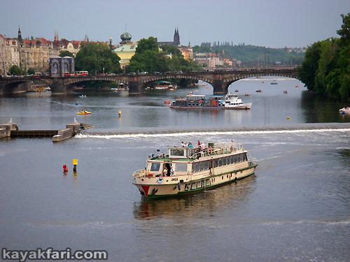 Flex Maslan Prague kayak vltava kayakfari art photography charles bridge czech republic 420 Vysehrad kajak river gothic castle weir lock