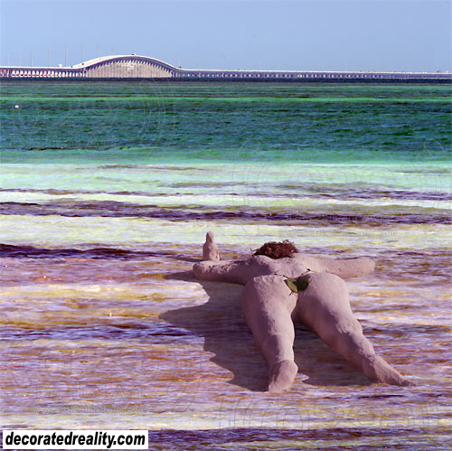 Flex Maslan kayakfari Bahia Honda kayak Keys decoratedreality 7 mile bridge beach paddle photography art surreal