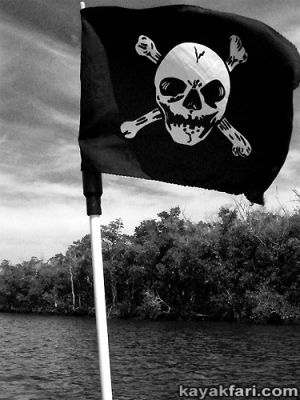 Flex Maslan halloween kayak skeleton kayakfari evil horror everglades totch paddle photography dark liquor skull zombie outlaw