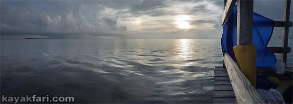 Flex Maslan kayakfari eclipse lunar supermoon high tides chickee kayak johnson keys photography everglades Florida bay bloodmoon sunset