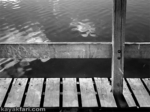 Flex Maslan kayakfari art chickee birdshit kayak everglades photography Florida Bay guano bird graffiti text johnson key light black and white